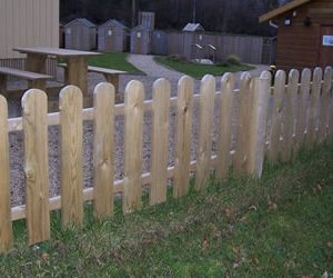 Cottage Planned Garden Fencing