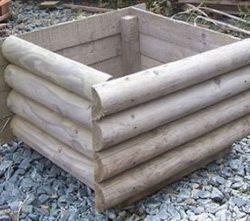 boxed planter