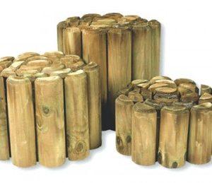 wooden log rolls
