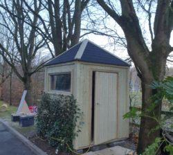 1.8m x 1.8m Security Hut