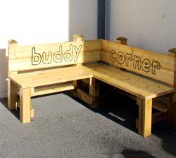 Buddy Corner Bench